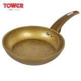 英国TOWER温莎系列金石24cm不粘煎锅 T81232GD